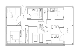 Appartement 1 - Plan au sol