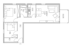 Appartement 2 - Plan au sol